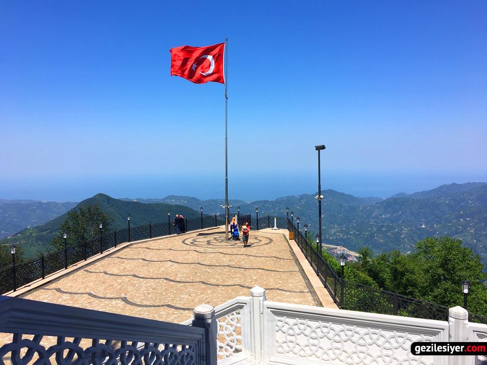 Kıble Dağı Camii Manzara