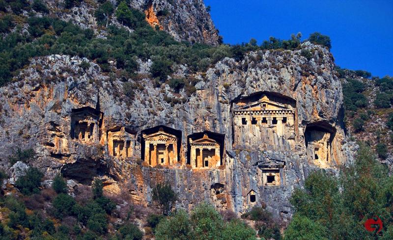 Kral Kaya Mezarları, Amasya