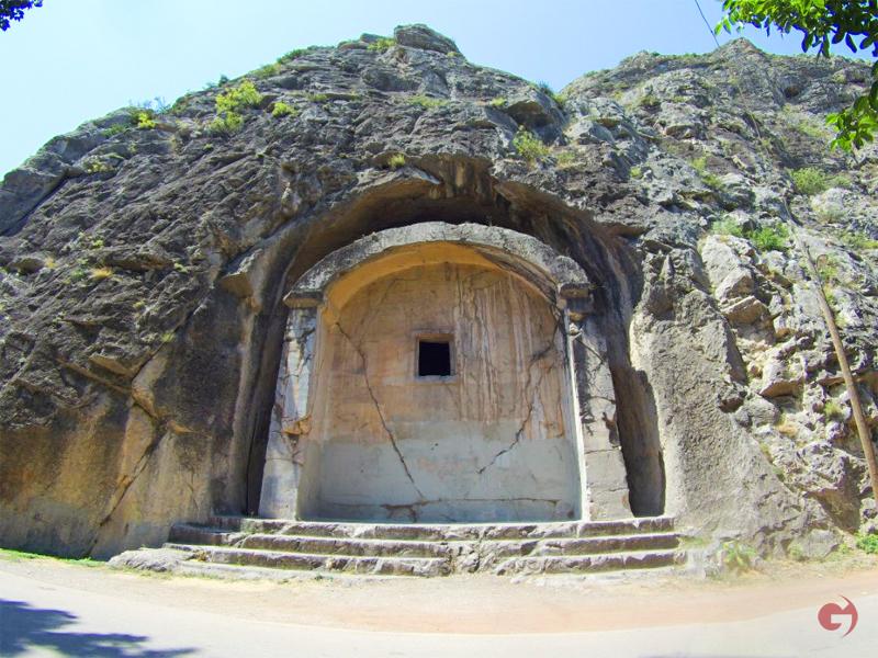 Aynalı Mağara, Amasya
