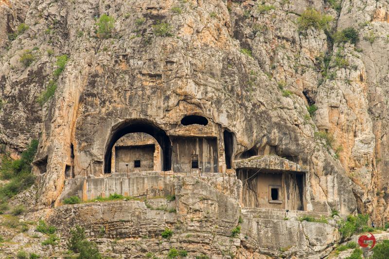Kral Mezarlıkları, Amasya
