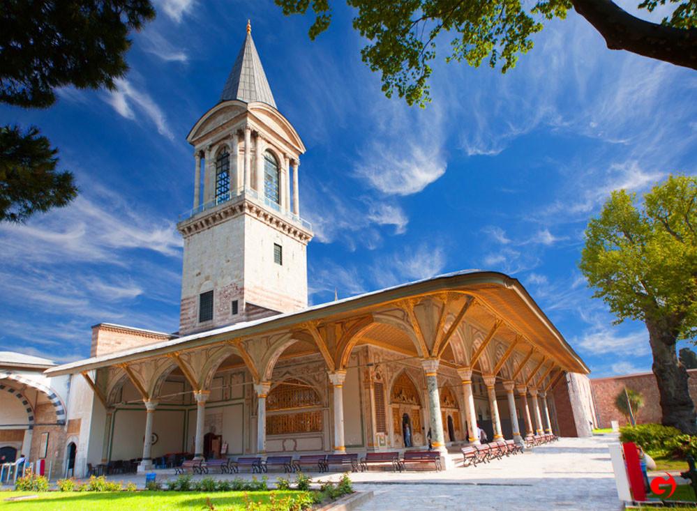 Topkapı Sarayı - Adalet Kulesi