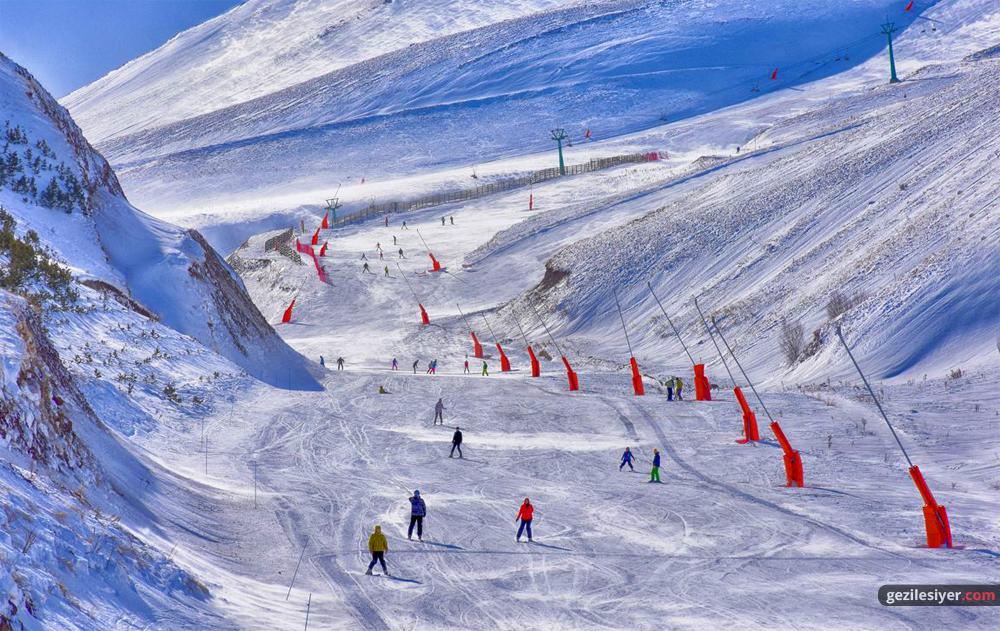 Palandöken Kayak Merkezi Pistleri