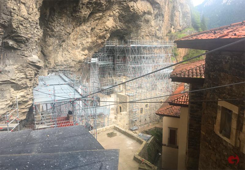 Sümela Manastırı, Restorasyon Süreci