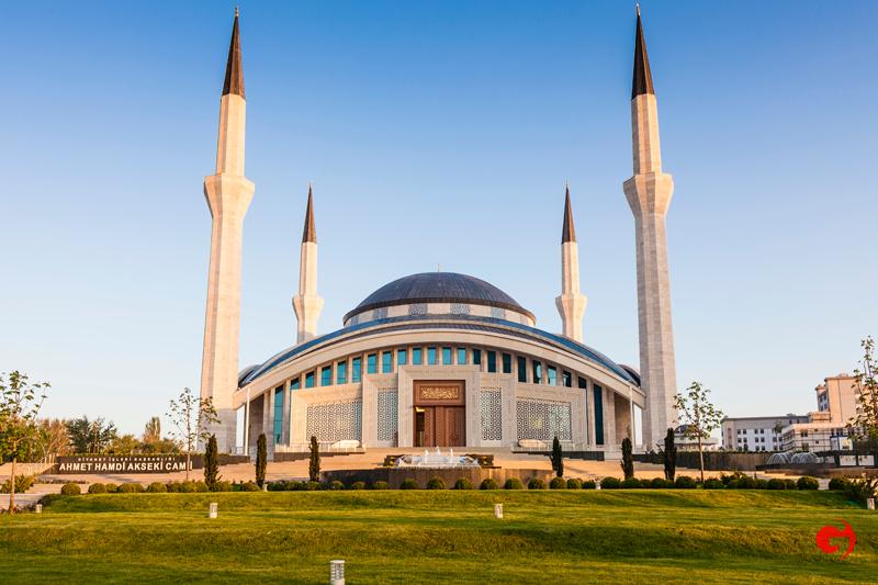 Ahmet Hamdi Akseki Camii, Ankara