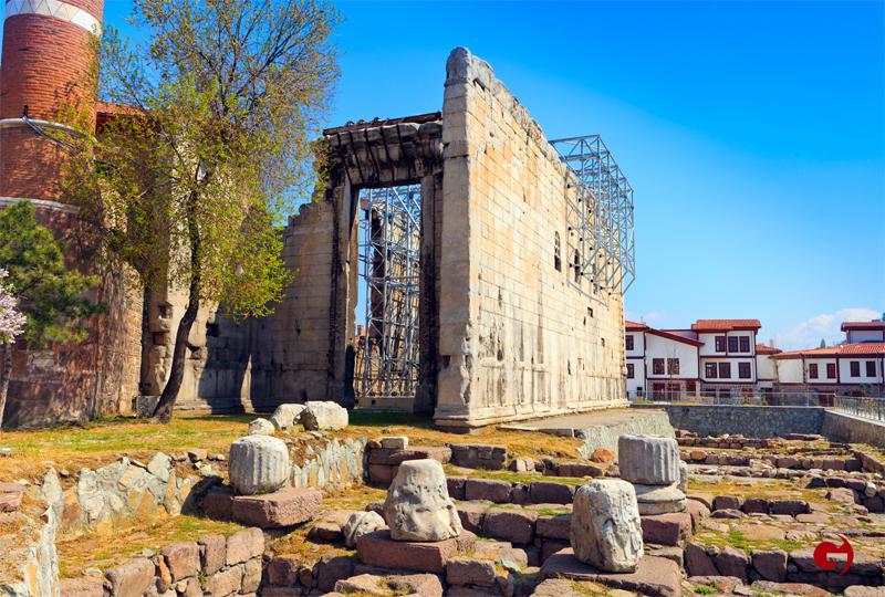 Augustus Tapınağı, Ankara