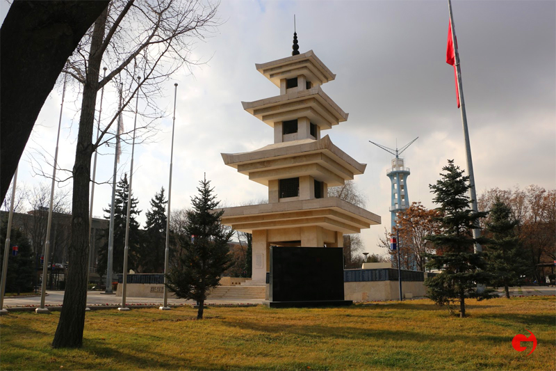 Kore'de Savaşan Türkler Anıtı, Ankara