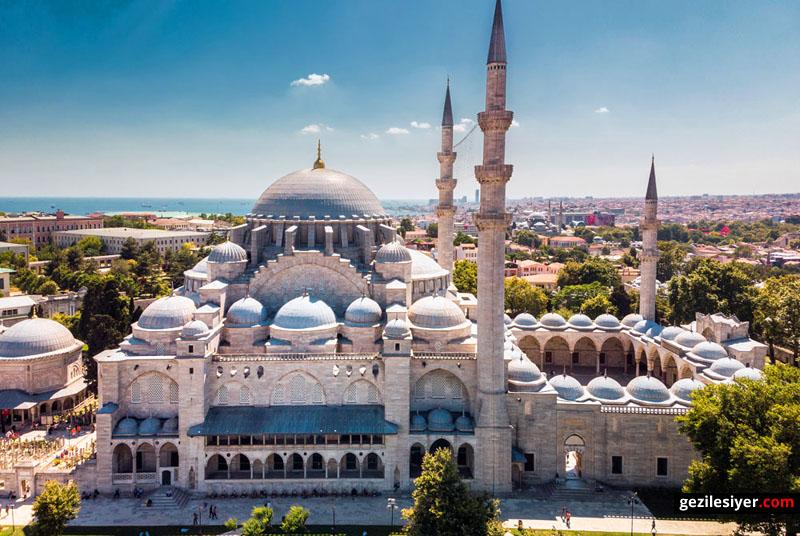 istanbul-gezilecek-yerler-suleymaniye-camii