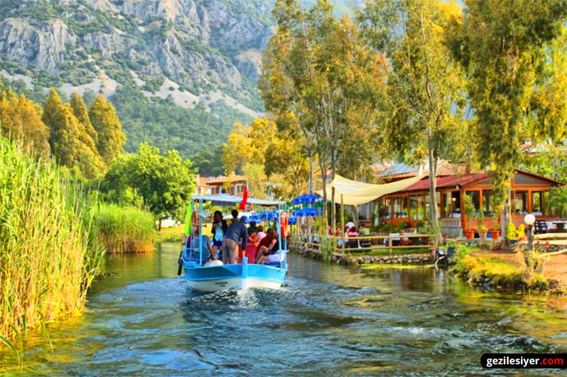 Azmak Nehri Muğla