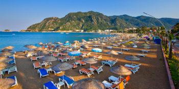 İçmeler Halk Plajı, Marmaris