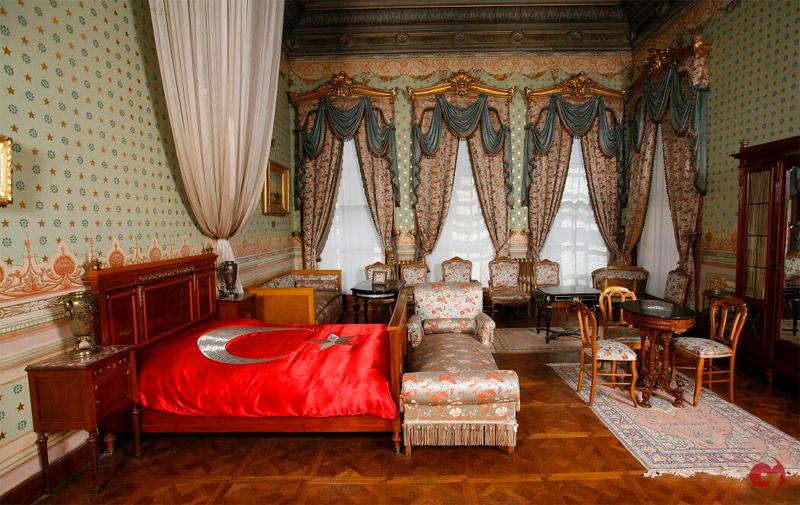Dolmabahçe Sarayı, Atatürk'ün Odası