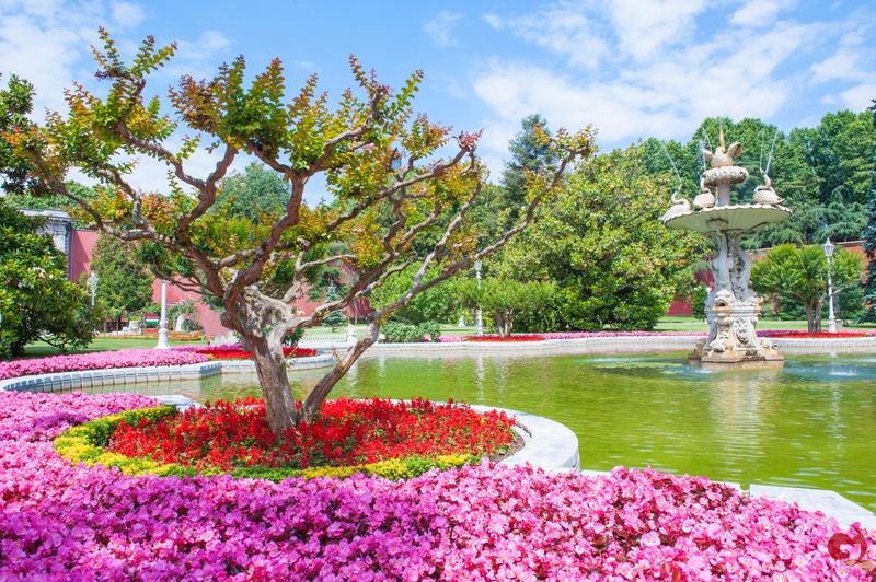 Dolmabahçe Sarayı, Has Bahçe