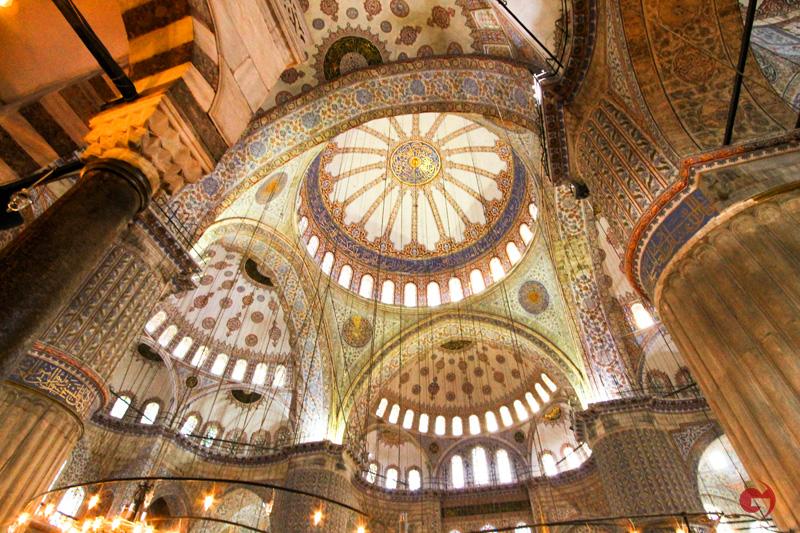 Sultanahmet Camii Kubbesi