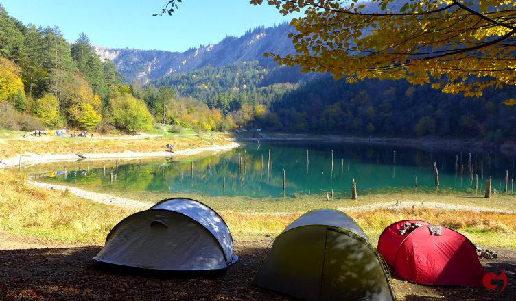 Sülüklü Göl Tabiat Parkı, Kamp Alanı