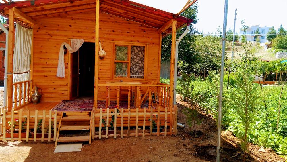 Salda Gölü Bungalov Evler