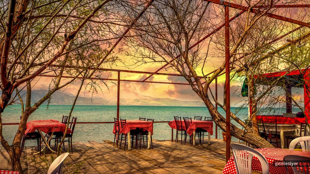 Salda Gölü Kahvaltı Yerleri