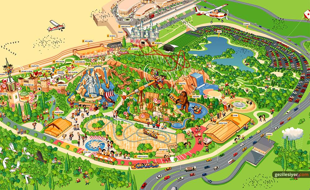 Vialand Haritası