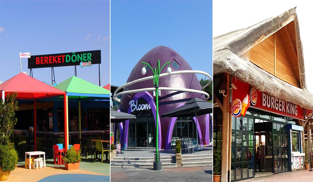 Vialand Yemek Salonları
